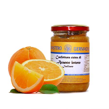 Confettura extra di arance intere
