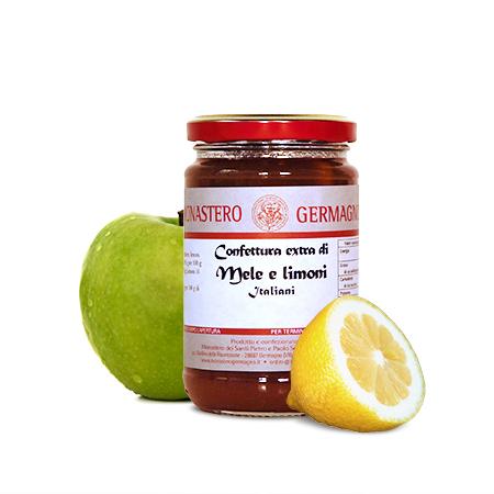 Confettura extra di mele e limoni