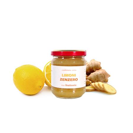 Confettura di limoni e zenzero