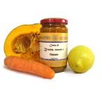 Crema di zucca, carote e limone